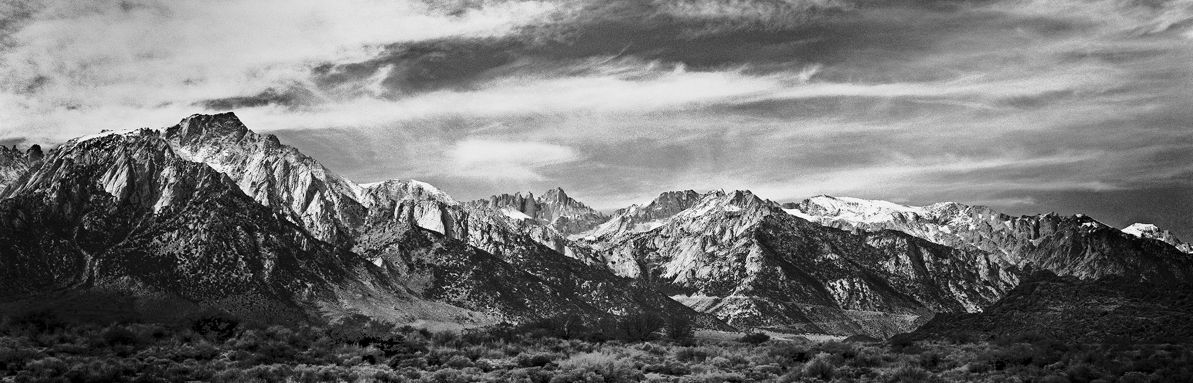 "Mount Whitney, Lone Pine, CA by Charles ""Chuck"" Farmer"